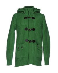 Bark - Green Cardigan - Lyst
