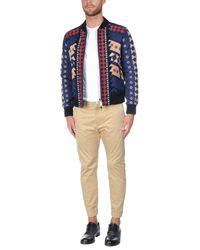 Valentino - Blue Jacket for Men - Lyst