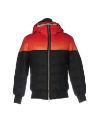 Iceberg Red Down Jacket for men