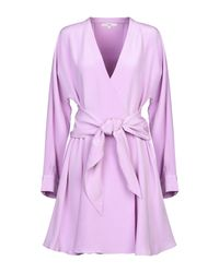 Robe courte Tibi en coloris Purple