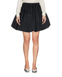 McQ Alexander McQueen Black Mini Skirt