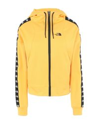 The North Face Yellow Sweatshirt