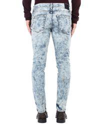 Pantalon en jean Pierre Darre' pour homme en coloris Blue