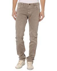 Closed Brown Denim Pants for men