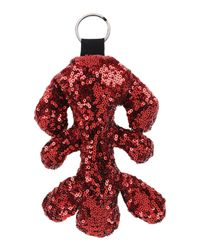 MM6 by Maison Martin Margiela - Red Key Ring - Lyst