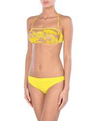 Twin Set Yellow Bikini