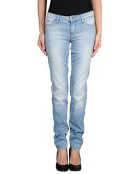 Miss Sixty   Blue Denim Pants   Lyst