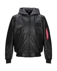 Blouson Alpha Industries pour homme en coloris Black