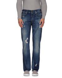 True Religion | Blue Denim Pants for Men | Lyst