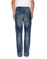 Originals By Jack & Jones Blue Denim Trousers for men