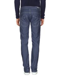 Dondup Blue Denim Pants for men