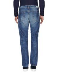 M. Grifoni Denim - Blue Denim Trousers for Men - Lyst