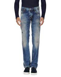 Antony Morato Blue Denim Trousers for men