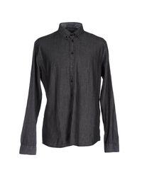 Minimum Black Denim Shirt for men