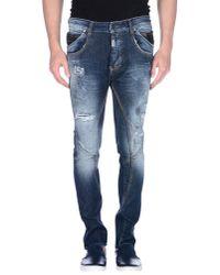 Absolut Joy Blue Denim Pants for men