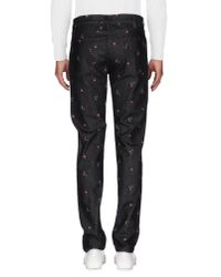 Dolce & Gabbana Black Denim Pants for men