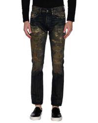 Denim & Supply Ralph Lauren | Black Denim Trousers for Men | Lyst