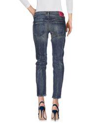 DIESEL Blue Denim Trousers