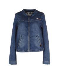 Roxy Blue Denim Outerwear