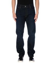 Levi's | Blue Denim Trousers for Men | Lyst