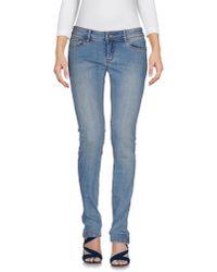 Roxy | Blue Denim Pants | Lyst