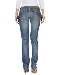 2W2M | Blue Denim Pants | Lyst