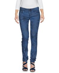 Armani Jeans | Blue Denim Trousers | Lyst