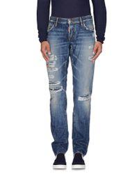 DSquared² | Blue Denim Pants for Men | Lyst