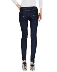Armani Jeans - Blue Denim Pants - Lyst
