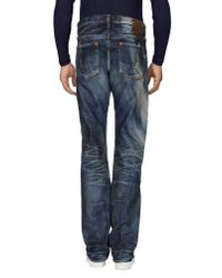 PRPS Noir Blue Denim Pants for men