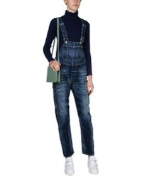 Armani Jeans Blue Pant Overall