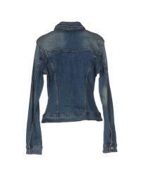 Liu Jo Blue Denim Outerwear