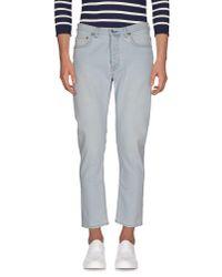 Acne | Blue Denim Pants for Men | Lyst