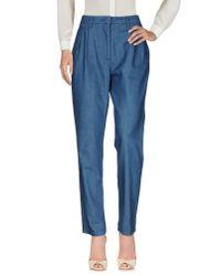 Essentiel Antwerp | Blue Casual Pants | Lyst