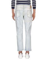 Entre Amis - Blue Denim Pants for Men - Lyst