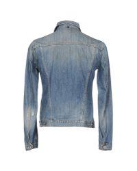 Dondup - Blue Denim Outerwear for Men - Lyst