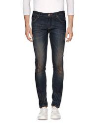 Philipp Plein | Blue Denim Pants for Men | Lyst