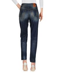 5preview - Blue Denim Trousers - Lyst