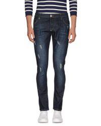 Philipp Plein | Blue Denim Trousers for Men | Lyst