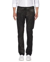 DRKSHDW by Rick Owens - Brown Denim Pants for Men - Lyst