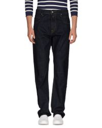 Replay | Blue Denim Pants for Men | Lyst