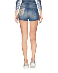 Shiki - Blue Denim Shorts - Lyst