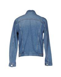 Acne Studios - Blue Denim Outerwear - Lyst
