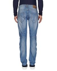 Imperial Blue Denim Trousers for men