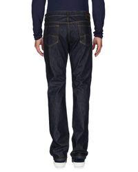 Giorgio Armani - Blue Denim Trousers for Men - Lyst