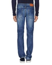 Liu Jo - Blue Denim Pants for Men - Lyst