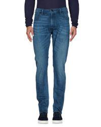 Lee Jeans Blue Denim Pants for men