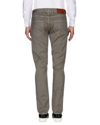 Pt05 Gray Casual Trouser for men