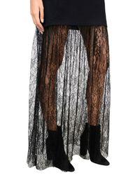 McQ Alexander McQueen Black Long Dress