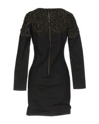 Balmain Black Short Dress